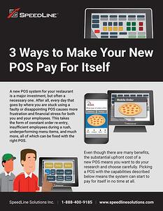 3 Ways to Make Your New POS Pay for Itself