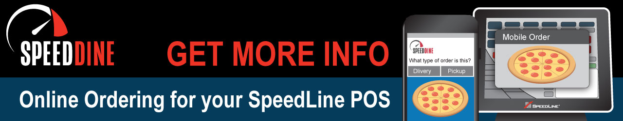 Get more information about Online Ordering for your SpeedLine POS