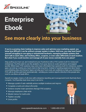The first page of the Enterprise Ebook: See more clearly into your business