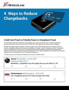 4 ways to reduce chargebacks