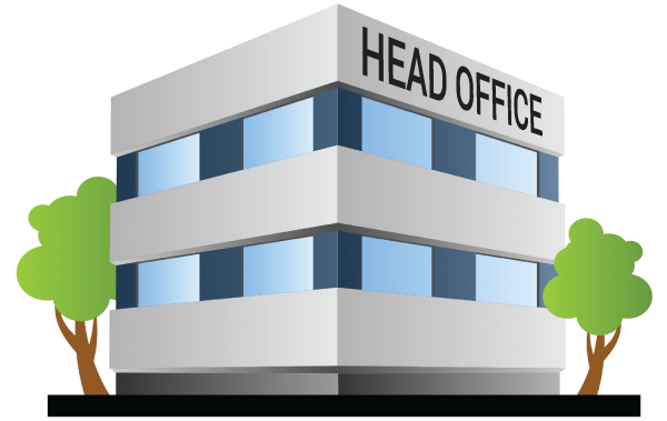 Image of a head office to illustrate restaurant chains.