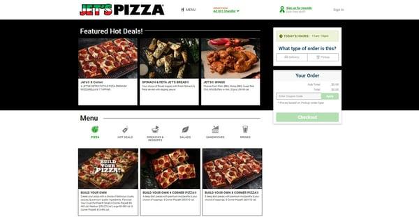 Jets-online-ordering-site