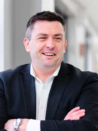 Justin Sheridan, Enterprise Account Manager