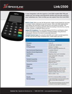 Link2500 Product Sheet