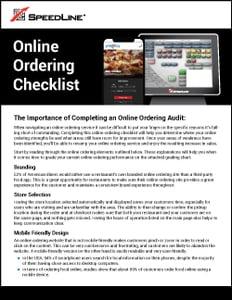 Online Ordering Audit