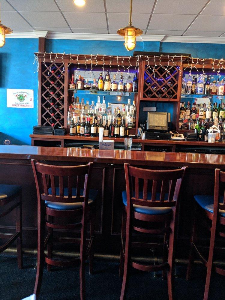 Papa Joe's bar at the Orland Park location
