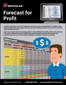 Forcecast for Profit
