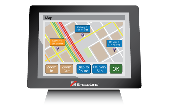 Delivery Live traffic and navigation