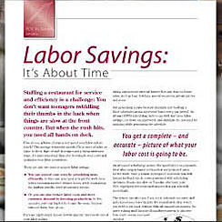 Article: Labour Savings: It's about time.
