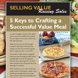Article: 5 keys to crafting a successful value meal
