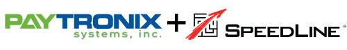 Paytronix and SpeedLine logos