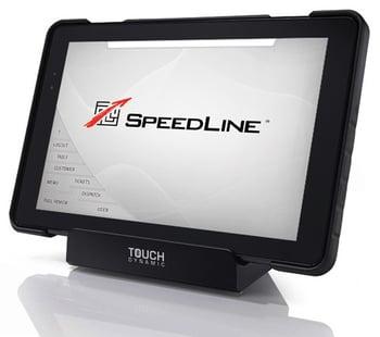 A tablet POS