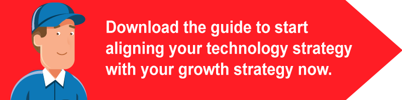 Download the guide to start aligning your technology strategy with your growth strategy now